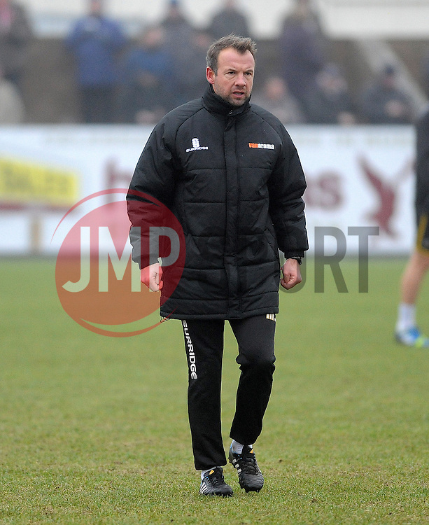 Bristol Rovers assistant manager, Marcus Stewart - Photo mandatory by-line: Neil Brookman/JMP - Mobile: 07966 386802 - 04/01/2015 - SPORT - football - Nuneaton - James Parnell Stadium - Nuneaton Town v Bristol Rovers - Vanarama Conference