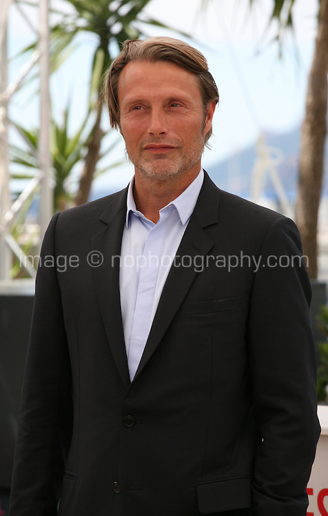 Actor Mads Mikkelsen at Michael Kohlhaas Film Photocall Cannes Film Festival On Friday 24th May May 2013