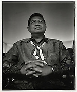 Soon to be President of Indonesia, Susilio Bambang Yudhoyono (SBY) Jakarta Indonesia August 2004
