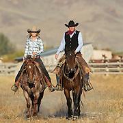 Newlyweds, Lacey & Dillon Lufkin, Leadore, Idaho