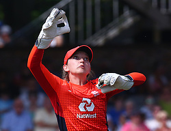 July 1, 2018 - London, Greater London, United Kingdom - Sarah Taylor of England Women.during International Twenty20 Final match between England Women and New Zealand Women  at The Cloudfm County Ground, Chelmsford, England on 01 July 2018. (Credit Image: © Kieran Galvin/NurPhoto via ZUMA Press)