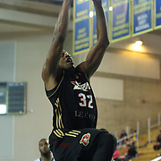Erie BayHawks Forward Justin Brownlee (32) drives towards the basket in the course of the second half of a NBA D-league regular season basketball game between the Delaware 87ers (76ers) and the Erie BayHawks (Knicks) Friday, March. 28, 2014 at The Bob Carpenter Sports Convocation Center in Newark, DEL