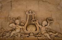 Palace of Versailles. Cherub frieze.