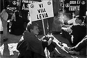 Möte mot kärnvapen, Vasaparken i Stockholm
