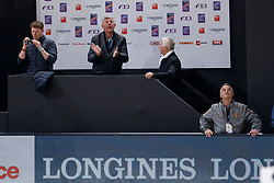 Verlooy Axel, BEL, Smolders Harrie, NED, Emerald<br /> LONGINES FEI World Cup™ Finals Paris 2018<br /> © Hippo Foto - Dirk Caremans<br /> 13/04/2018