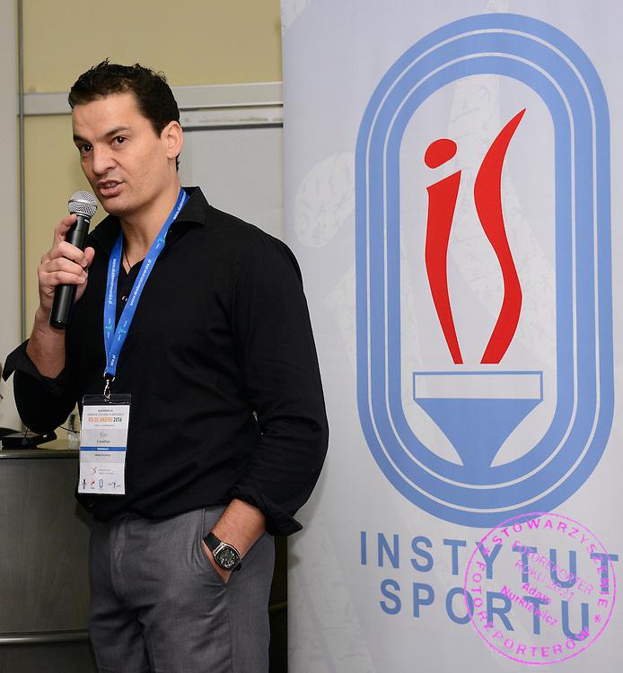 Spala 18/11/2014<br /> Konferencja trener&oacute;w szkolenia olimpijskiego<br /> Na zdj. Blair Crewther<br /> Fot. Piotr Hawalej