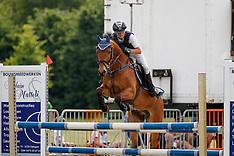 Springen  - 6 jaar D pony's - Broechem 2017