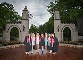 Libbie and friends IU Grad pics 2017