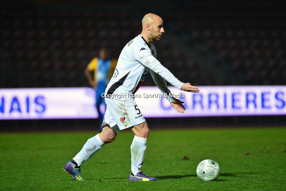 Ludovic GUERRIERO - 23.01.2015 - Creteil / Laval - 21eme journee de Ligue 2<br /> Photo : Dave Winter / Icon Sport