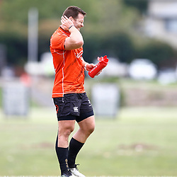 Craig Burden of the Cell C Sharks during the Cell C Sharks training session from theBox Hill Rugby Union Football Club  RHL Sparks Reserve, Canterbury Rd & Middleborough Road, Box Hill VIC 3128. Melbourne,Australia 20 February 2020. (Photo Steve Haag Sports -Hollywoodbets)