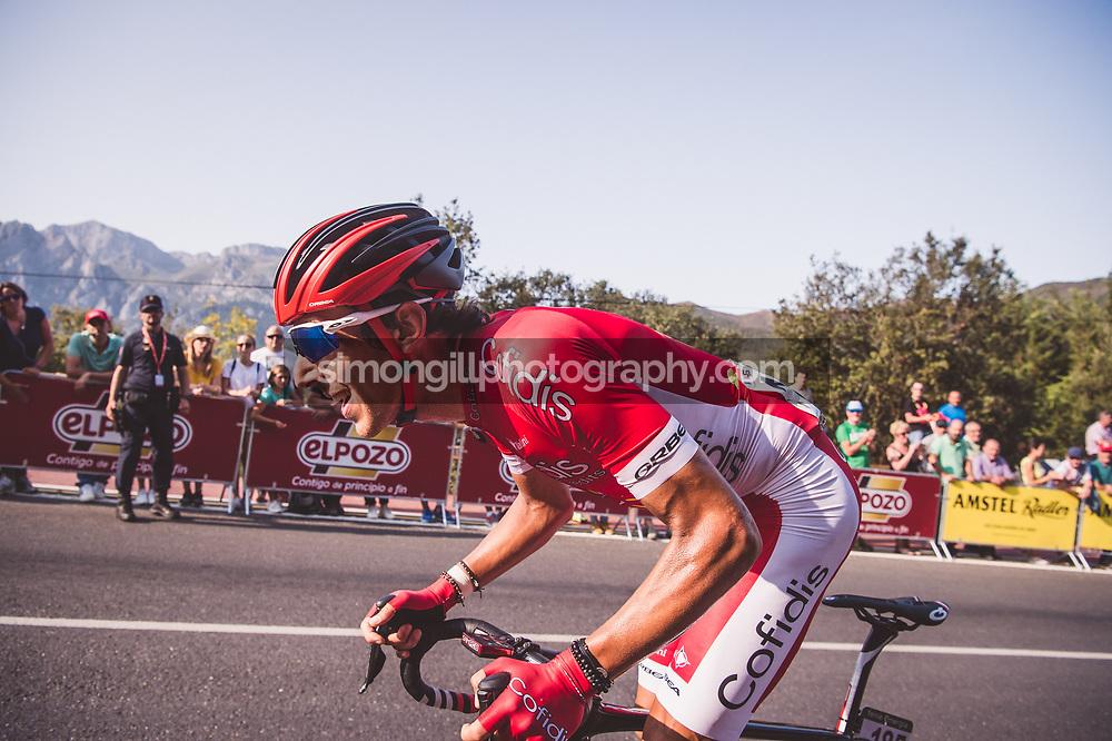 September 7th 2017, Suances to Santo Toribio de Liébana, Spain; Cycling, Vuelta a Espana Stage 18; Stéphane Rossetto