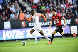 May 19, 2018 - Rennes, France, France - but de Isaac Mbenza  (Credit Image: © Panoramic via ZUMA Press)