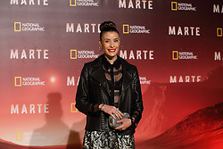 November 8, 2016 - Roma, RM, Italy - Italian actress Beatrice Olla during Red Carpet of the premier of Mars, the largest production ever made by National Geographic  (Credit Image: © Matteo Nardone/Pacific Press via ZUMA Wire)