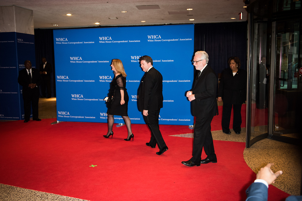 Wolf Blitzer, CNN's lead political anchor, arrives on the red carpet before the White House Correspondents' Dinner in Washington, D.C. on April 29, 2017. CREDIT: Mark Kauzlarich for CNN
