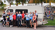 Palm Springs Group Photo - 2010. United Finance (formerly Finnegan's Toys / Discover Chiropractic) Cycling Team winter training camp, January 30 to February 5, 2010; Palm Springs, California.  Emerald Velo Cycling Club (EVCC).