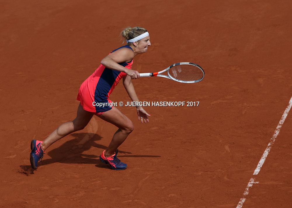 TIMEA BACSINSZKY (SUI)<br /> <br /> Tennis - French Open 2017 - Grand Slam / ATP / WTA / ITF -  Roland Garros - Paris -  - France  - 4 June 2017.