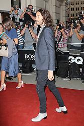 Russell Brand, GQ Men of the Year Awards, Royal Opera House, London UK, 03 September 2013, (Photo by Richard Goldschmidt)