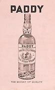 Munster Minor and Senior Hurling Championship Final,.25.07.1937, 07.25.1937, 25th July 1937,.25071937MSMHCF,..PADDY old Irish whiskey,..
