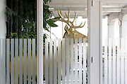 golden deer  object inside office space