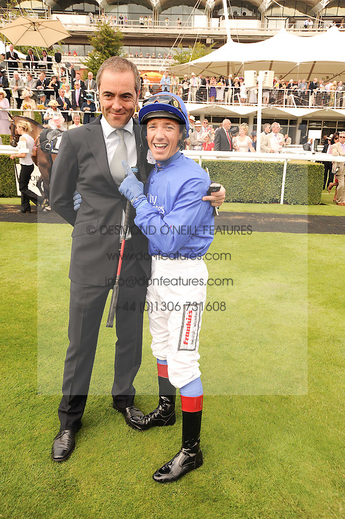 Left to right, JAMES NESBITT and FRANKIE DETTORI at the third day of the 2010 Glorious Goodwood racing festival at Goodwood Racecourse, Chichester, West Sussex on 29th July 2010.
