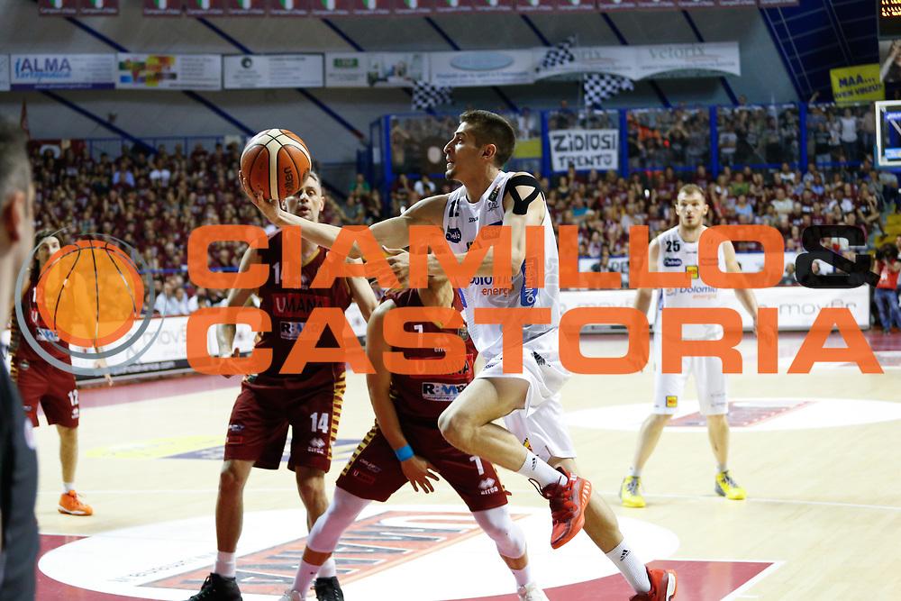 Diego Flaccadori<br /> Umana Reyer Venezia - Dolomiti Energia Aquila Basket Trento<br /> Lega Basket Serie A 2016/17 Finali Gara 01<br /> Venezia, 10/06/2017<br /> Foto Ciamillo-Castoria / M. Brondi