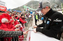 MORGENSTERN Thomas (AUT) with fans after the Flying Hill Individual competition at 4th day of FIS Ski Jumping World Cup Finals Planica 2012, on March 18, 2012, Planica, Slovenia. (Photo by Vid Ponikvar / Sportida.com)