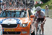 2010Tour de France scenes. Morzine, France. 2010
