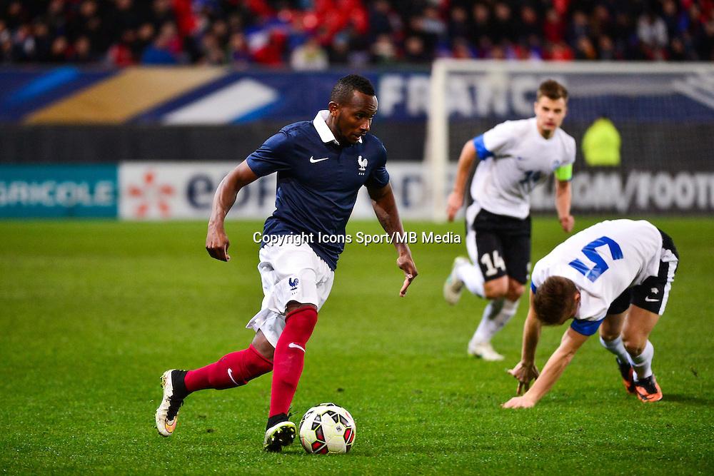 Lenny NANGIS - 25.03.2015 - Football Espoirs - France / Estonie - Match Amical -Valenciennes<br /> Photo : Dave Winter / Icon Sport