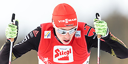 30.01.2016, Casino Arena, Seefeld, AUT, FIS Weltcup Nordische Kombination, Seefeld Triple, Langlauf, im Bild Eric Frenzel (GER) // Eric Frenzel of Germany competes during 10km Cross Country Gundersen Race of the FIS Nordic Combined World Cup Seefeld Triple at the Casino Arena in Seefeld, Austria on 2016/01/30. EXPA Pictures © 2016, PhotoCredit: EXPA/ JFK