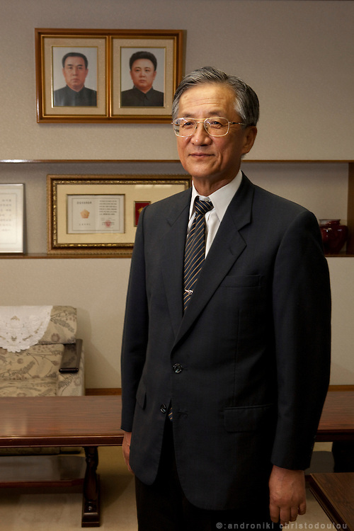 President of N. Korean University in Tokyo Mr Chang Byong-Tai