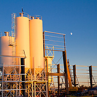 Storage Tanks on construction site, Commercial construction photography, construction photography, Tucson, Phoenix