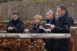 Jury<br /> BWP hengstenkeuring 3de phase - Neeroeteren 2012<br /> © Dirk Caremans