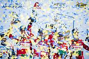 January 25-26, 2020. IMSA Weathertech Series. Rolex Daytona 24hr. #48 Paul Miller Racing Lamborghini Huracan GT3, GTD: Bryan Sellers, Madison Snow, Corey Lewis, Andrea Caldarelli