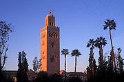The Kutubia, Marrakesh, Morocco