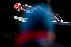 Gianina Ernst from Germany during Qualification Round at Day 2 of FIS Ski Jumping World Cup Ladies Ljubno 2018, on January 27, 2018 in Ljubno ob Savinji, Slovenia. Photo by Urban Urbanc / Sportida