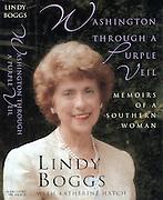"Lindy Boggs book cover: ""Washington Through a Purple Veil"""