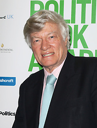 © Licensed to London News Pictures. 19/03/2014, UK. Geoffrey Robertson, Political Book Awards, BFI IMAX, London UK, 19 March 2014. Photo credit : Richard Goldschmidt/Piqtured/LNP