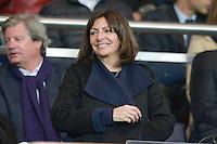 Anne Hidalgo - 08.04.2015 - Paris Saint Germain / Saint Etienne - 1/2Finale Coupe de France<br />Photo : Andre Ferreira / Icon Sport