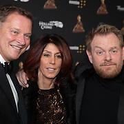 NLD/Amsterdam/20200122 - Musical Award Gala 2020, Albert Verlinde met Rachel Hazes en Martijn Fischer