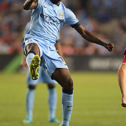 Kelechi Iheanacho, Manchester City, in action during the Manchester City Vs Liverpool FC Guinness International Champions Cup match at Yankee Stadium, The Bronx, New York, USA. 30th July 2014. Photo Tim Clayton