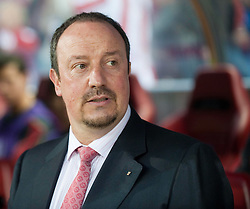 22.04.2010, Estadio Vicente Calderon, Madrid, ESP, UEFA EL, Atletico Madrid vs Liverpool FC im Bild Liverpool's manager Rafael Benitez, EXPA Pictures © 2010, PhotoCredit: EXPA/ Propaganda/ D. Rawcliffe / SPORTIDA PHOTO AGENCY