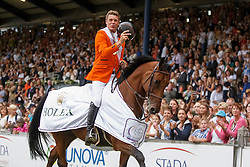 Dubbeldam Jeroen, (NED), SFN Zenith NOP<br /> Gold medal winner<br /> Individual Final Competition<br /> FEI European Championships - Aachen 2015<br /> © Hippo Foto - Dirk Caremans<br /> 23/08/15