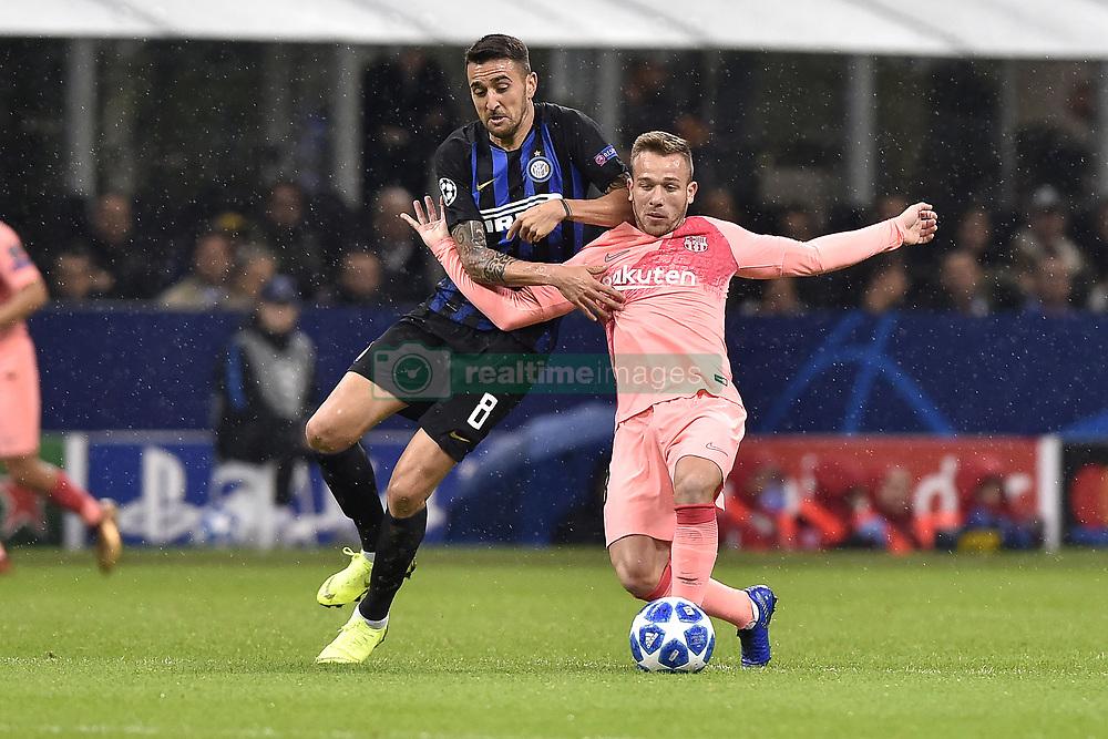 صور مباراة : إنتر ميلان - برشلونة 1-1 ( 06-11-2018 )  20181106-zaa-a181-389