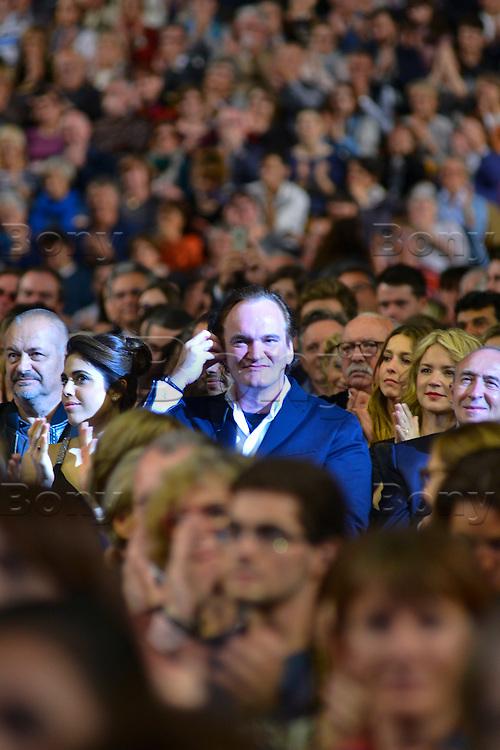 Quentin Tarantino<br /> Lyon 8 oct 2016 - Festival Lumi&egrave;re 2016 - C&eacute;r&eacute;monie d&rsquo;Ouverture<br /> 8th Film Festival Lumiere In Lyon : Opening Ceremony