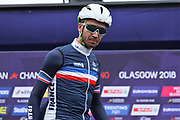 Pierre Luc Perrichon (French) at the presentation during the Road Cycling European Championships Glasgow 2018, in Glasgow City Centre and metropolitan areas Great Britain, Day 11, on August 12, 2018 - Photo Laurent Lairys / ProSportsImages / DPPI