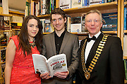 Founder of the Expect Success Academy, Galway based business and marketing strategist John Mulry launched his first book Your Elephant's Under Threat. At the launch Jessica Thompson  the author himself John Mulry  , Jim Fennell, President of Galway Chamber. Your Elephant's Under Threat will be available from www.amazon.com and Charlie Byrne&rsquo;s Bookshop Galway from February 28th and retails at &euro;19.99<br /> &nbsp;Photo:Andrew Downes