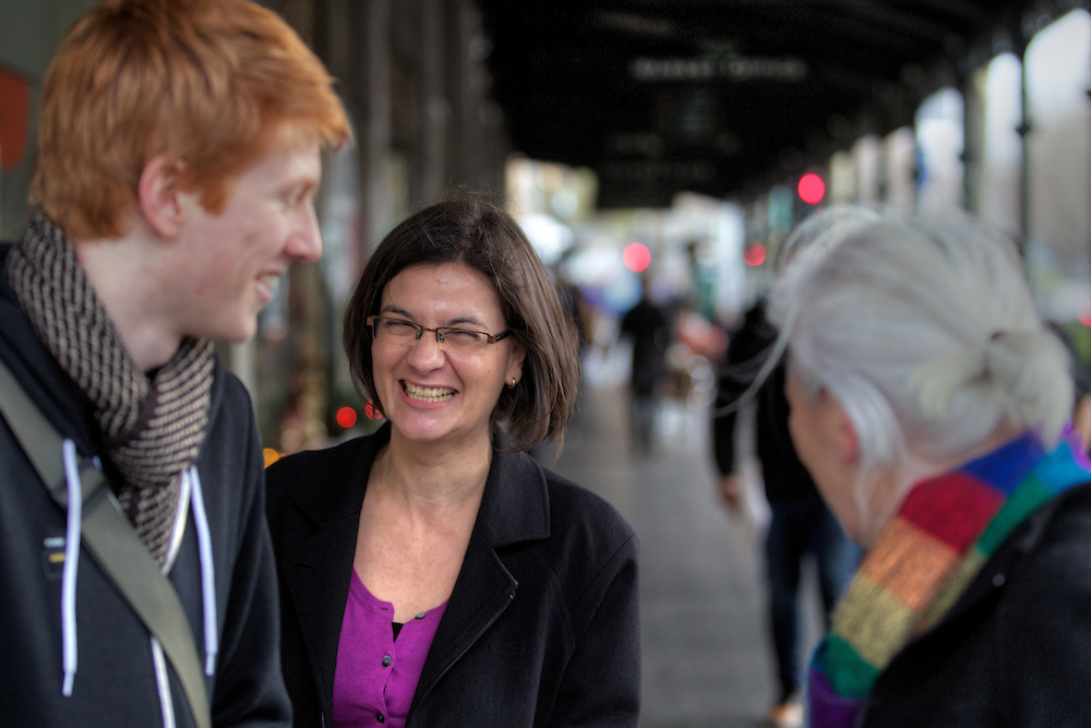 Melbourne by election, Labor candidate Jennifer Kanis campaigning at Victoria Market. Pic By Craig Sillitoe CSZ / The Sunday Age.12/07/2012 melbourne photographers, commercial photographers, industrial photographers, corporate photographer, architectural photographers, This photograph can be used for non commercial uses with attribution. Credit: Craig Sillitoe Photography / http://www.csillitoe.com<br /> <br /> It is protected under the Creative Commons Attribution-NonCommercial-ShareAlike 4.0 International License. To view a copy of this license, visit http://creativecommons.org/licenses/by-nc-sa/4.0/.