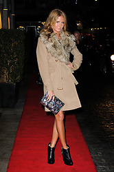 Millie Mackinstosh arrives at the Daily Mail Inspirational Woman of The Year Awards, London, Wednesday January 18, 2012. Photo By i-Images