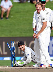 Hamilton-Cricket, New Zealand v South Africa, 3rd test, day 4