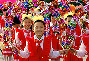 School girls at festival in Peking, China RESERVED USE - NOT FOR DOWNLOAD -  FOR USE CONTACT TIM GRAHAM